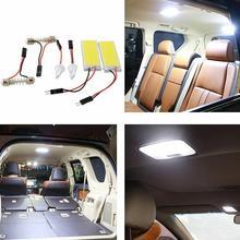 Модификация автомобиля лампы светодиодный свет крыши автомобиля лампы внутреннего Лампы для чтения внутренняя панель автомобиля лампы