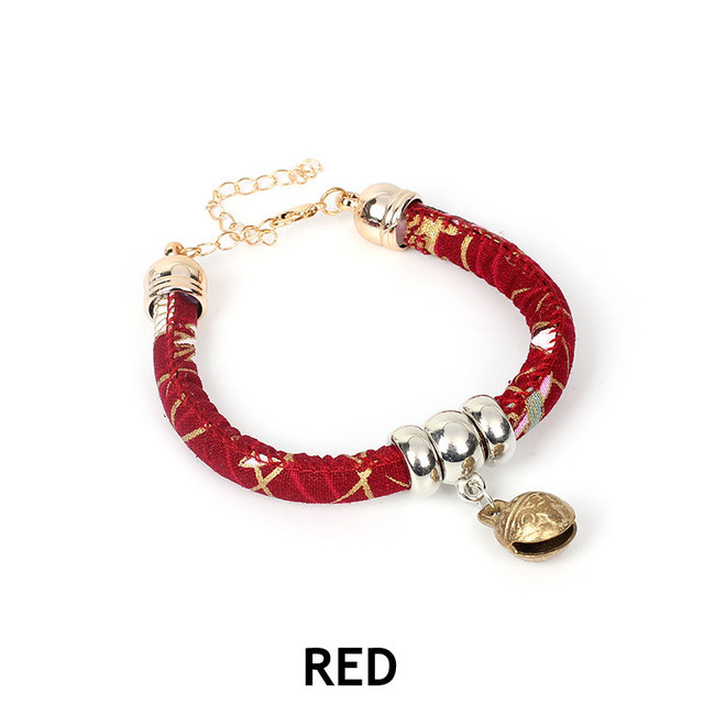 YTYC Japanese Style Wind Handmade Pet Dog and Dog Collar DIY Jewelry Bow Tie Cat Dog Adjustable Pet Supplies L Random Color