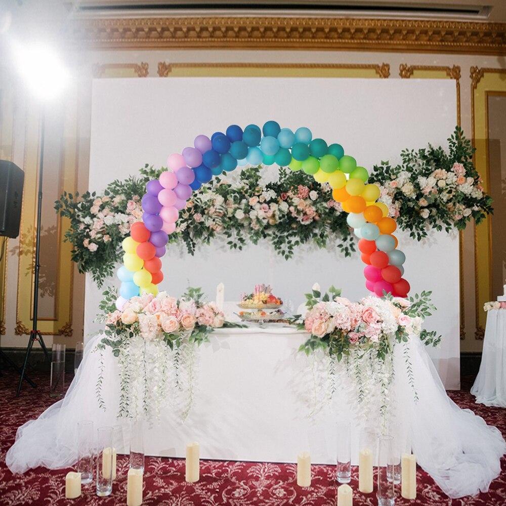 wedding : 39pcs DIY Balloon Arch Kit Adjustable Balloons Column Stand Base Frame Set Birthday Wedding Party Decorations High Quality