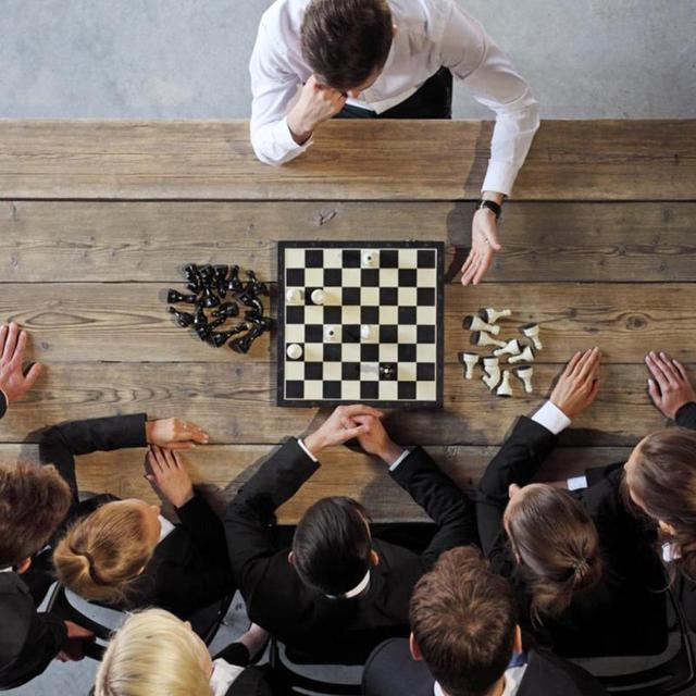 Jeu d'échecs magnétiques pliables Portable d'entraînement - ideal déplacemnts 2