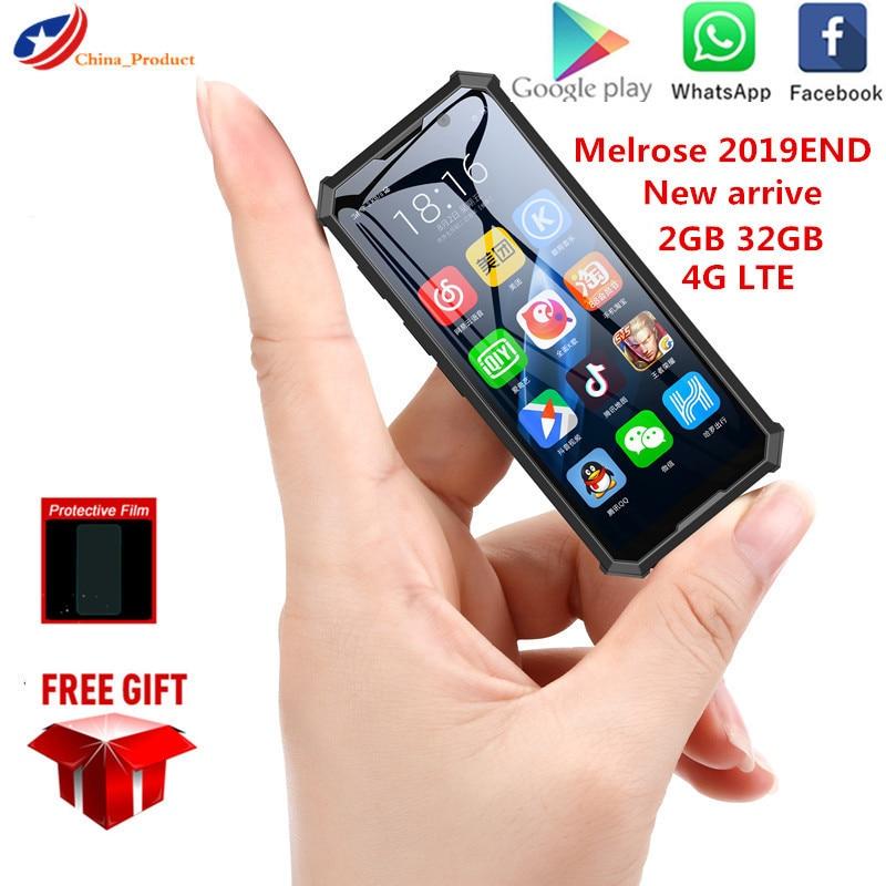 Фото. Новое поступление, мини-смартфон Melrose 3,5, 2 Гб, 32 ГБ, 4G, сеть Wi-Fi, gps, 2000 дюйма, маленьки