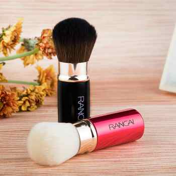 1pcs Pro Makeup Brush Cosmetic Foundation Blending Brushes Telescopic Face Powder Soft Cosmetic Brush Sculpting Beauty Makeup