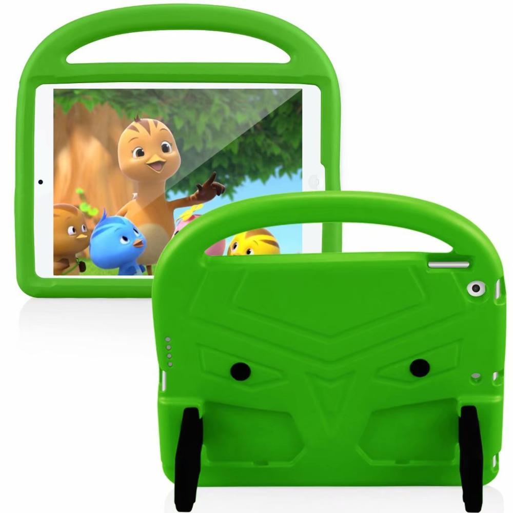 Green Blue EVA Silicon Coque for iPad Pro 11 2018 2020 Case Kids Cartoon Bird Shockproof A1980 A2230