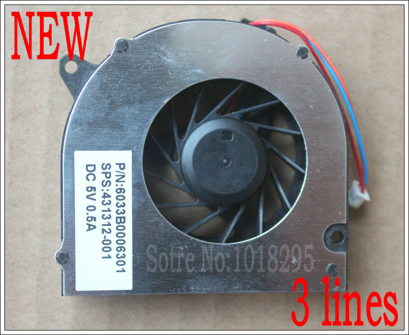 NEW CPU Cooler Fan For <font><b>HP</b></font> 6520S 6531S 6535S 6715S 6710B <font><b>6510B</b></font> 6530S 6530B 6735S NX7400 NX6310 NX6315 NX6325 Laptop image