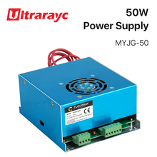 Ultrarayc 50W CO2 Laser Power Supply for CO2 Laser Engraving Cutting Machine MYJG-50 co2 laser straight and speaker beam expander 5times fixed series jg 10 6 5x use for co2 laser mark machine