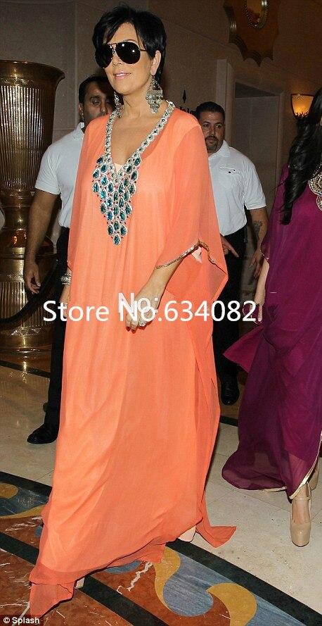 Muslim Fashion 2018 Vestido De Noiva Dubai Caftan Coral Chiffon Crystal Arabic Evening Prom Gown Mother Of The Bride Dresses