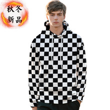 PUIMENTIUA Hot Selling 2019 New European American Autumn Winter 3D Digital Printing Hoodies Mens Size Sweatshirts