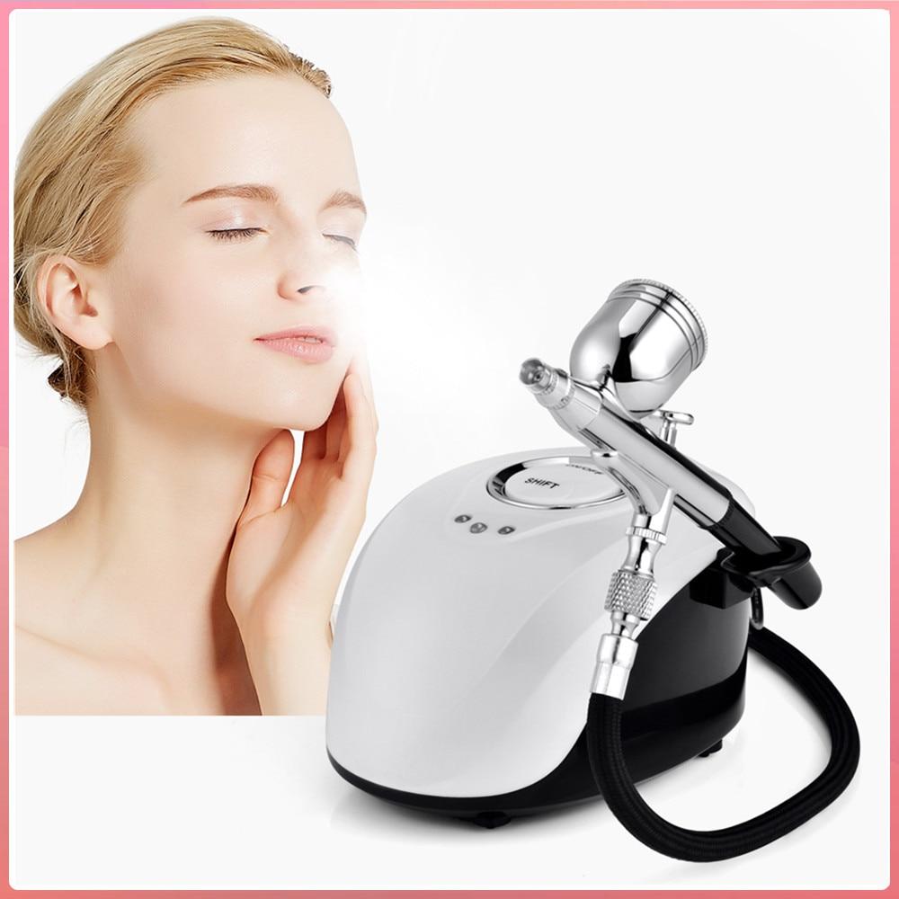 Portable SPA Sprayer Machine Nano High Pressure Face Steamer Water Oxygen Filling Meter Nebulizer Face Beauty Equipment Facial