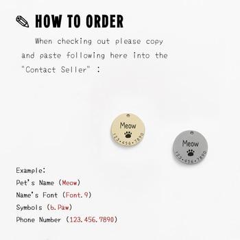 Dog ID Tag Collar 2