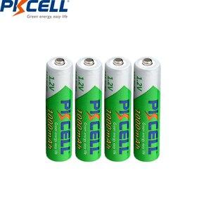 Image 3 - 4 adet 1000mah aaa nimh pil 1.2v aaa şarj edilebilir pil piller kadar 1200cicle kez düşük öz deşarj AAA piller