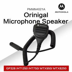Image 1 - Mag jeden przez firmę Motorola PMMN4021A pilot zdalnego mikrofon z głośnikiem z 3.5mm gniazdo audio dla Motorola GP328 HT1250 HT750 MTX950 MTX8250