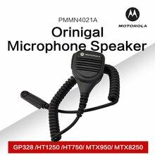 Mag one Motorola tarafından PMMN4021A uzaktan hoparlör mikrofon 3.5mm ses jakı ile Motorola GP328 HT1250 HT750 MTX950 MTX8250
