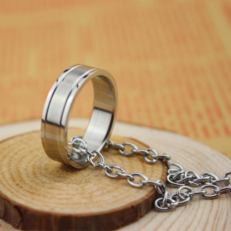 Kuroko No Basketball Basuke Cosplay Tatsuya Kagami Pendant Chain Ring Necklace