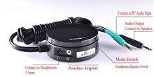 T Z2 PC altavoz, auriculares, interruptor de Audio, convertidor ajustable, controlador de volumen, amplificador, placa de control de tonos