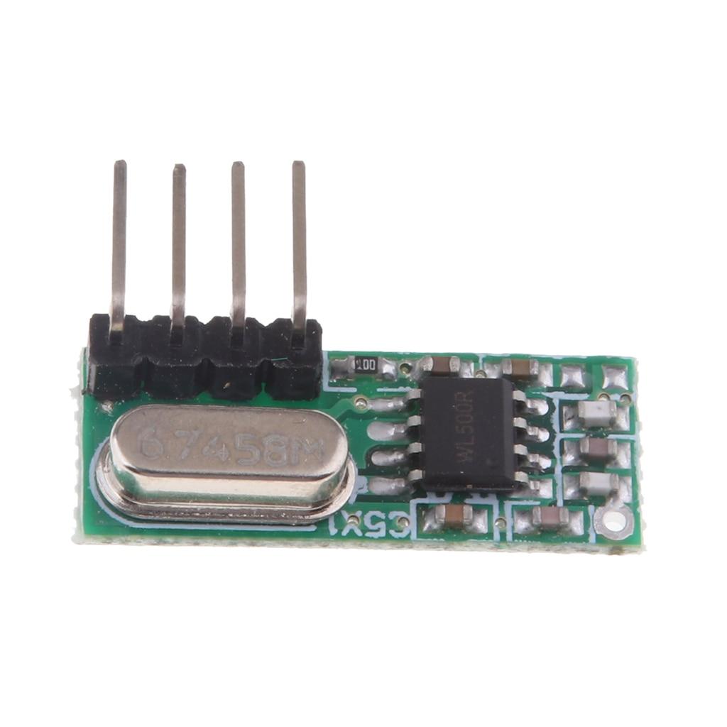 RX-500 ASK RF Module Superheterodyne Receiver High Sensitivity, 433MHz, 1 Pack