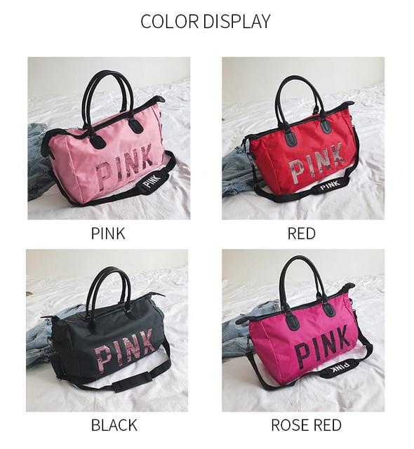 Pink Top-Handle Women's Bag