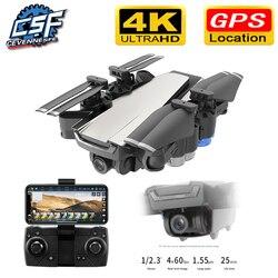 2019 nowy Drone gps HD 4K 1080P 5G WIFI wysokość transmisji wideo zachować z kamerą VS SG907 dron 20 minut drony zabawki w Helikoptery RC od Zabawki i hobby na
