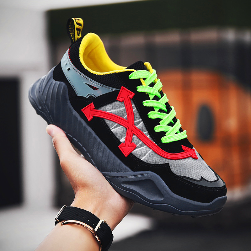 Outdoor Sneakers Fashion summer shoes men casual air mesh shoes Trend lightweight breathable slip on flats