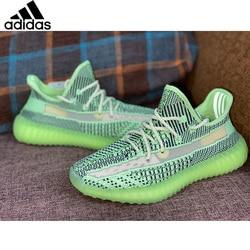 Adidas Originals, Yeezy Boost 350 V2, zapatos para correr semicongelados amarillos para hombre, zapatillas para correr con Coco