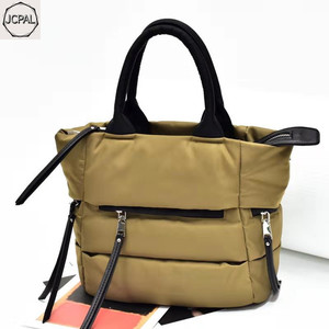 Image 5 - 2018 New Winter Space Bale Handbag Woman Casual Space Cotton Totes Bag Down Feather Padded Lady Shoulder Crossbody Bag