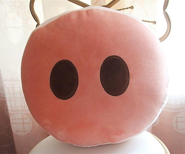 Pigskin Ass Pigskin Butt Shoulder Bag GIRL'S Soft Girl Pigskin Nose Purse Brooch Pendant