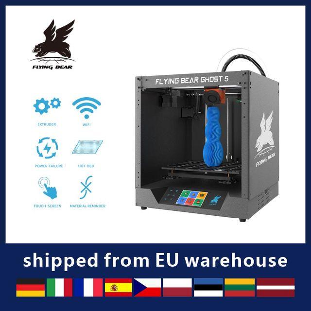 Free shipping Flyingbear-Ghost 5 full metal frame High Precision DIY 3d printer kit imprimante impresora glass platform 1