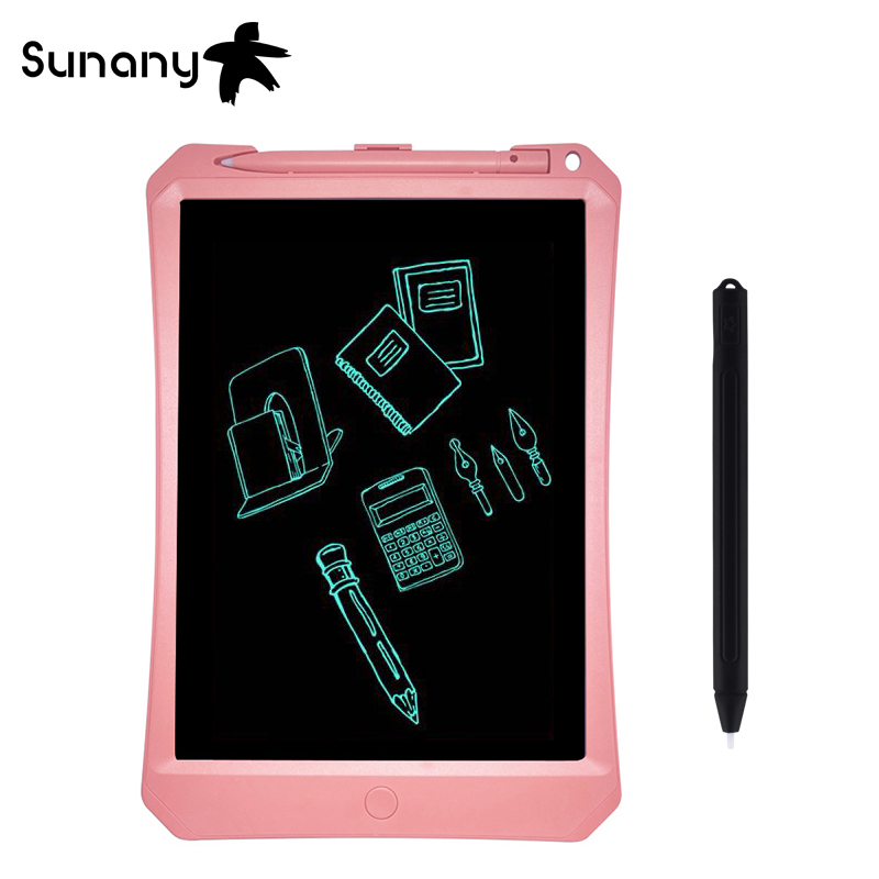 Sunany 11 inch electronic LCD Writing Tablet Caderno inteligente Multicolour hand-painted board the best gift for Children