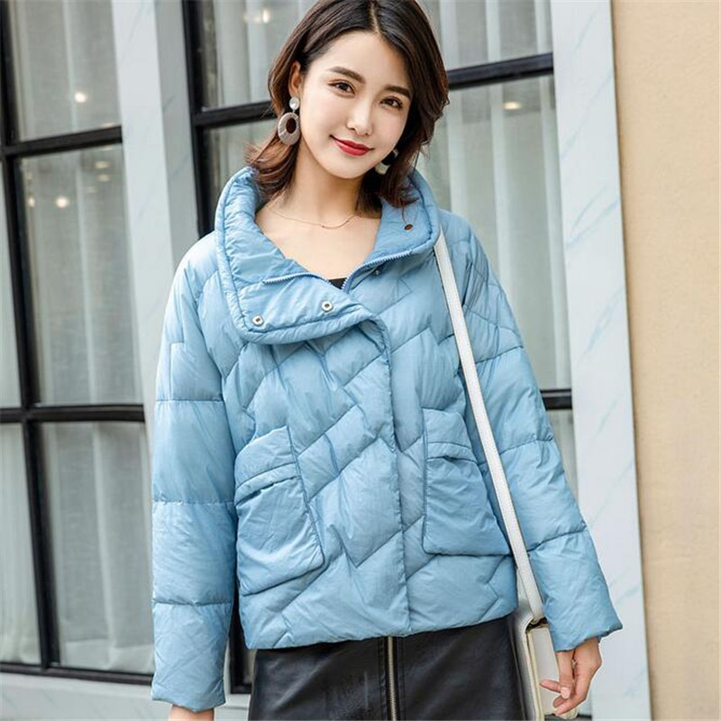 New 90% white duck short   down   jacket women Parkas Winter Ladies'   Down     coat