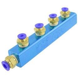 Pneumatyczne wąż powietrza montaż 4mm do 6mm 6 Push do podłączenia szybkozłącze w Złącza od Lampy i oświetlenie na