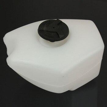 Tanque de gasolina de plástico con tapa para 2 tiempos, 47cc, 49cc, Minimoto, Mini Moto, Scooter GP, estilo de carrera, bicicleta de bolsillo