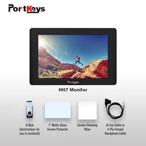 Image 5 - PortKeys HH7 1200nit Daylight 7 Inch 3D LUT 4K HDMI Signal on Camera Filed Monitor with Histogram monitor for dslr camera