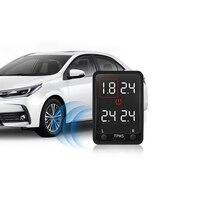 Dört lastik basıncı İzleme sistemleri Honda Accord 2008 için Acura TSX 2010 araba OBD TPMS gerçek zamanlı güvenli izleme izci ünitesi