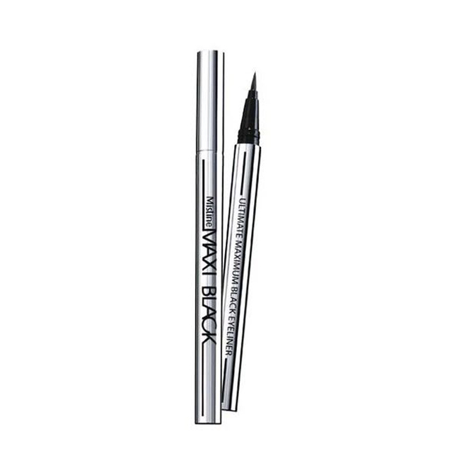 1 pcs Ladies Black Liquid Eyeliner Long-lasting Waterproof Eye Liner Pencil Smudge-Proof Cosmetic Beauty Makeup Liquid