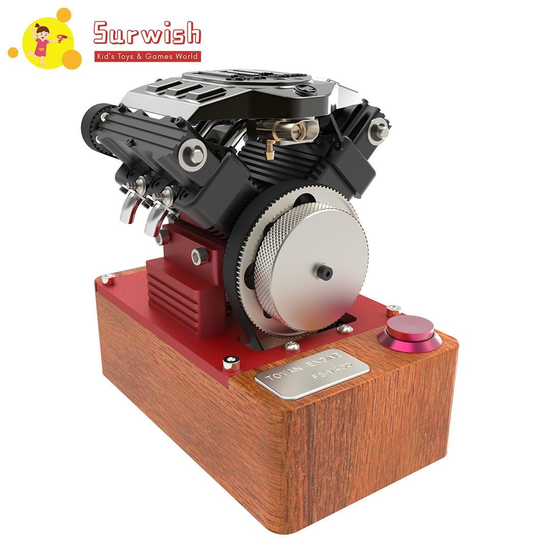 TOYAN V4 Engine 4 Cylinder Four Stroke Gasoline Engine FS-4100GA Full Edition Engine Without CDI And Spark Plug