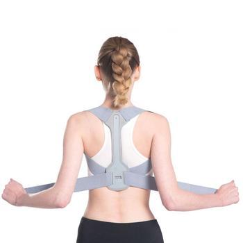 Adjustable Back Supporter Belt Clavicle Spine Shoulder Back Orthopedic Brace Belt Posture Lumbar Corrector Back Support Adult 1