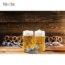 Yeele Oktoberfest Party Photocall Old Chalet Beer Photography Backdrops Personalized Photographic Backgrounds For Photo Studio