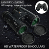 10X42 Binoculars Waterproof Professional Camping Hunting Telescope Zoom Bak4 Prism Optics with Binoculars Strap 1