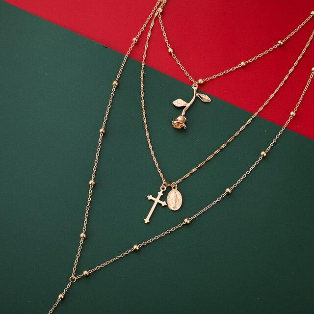 beautiful multiwrap beaded necklace 6