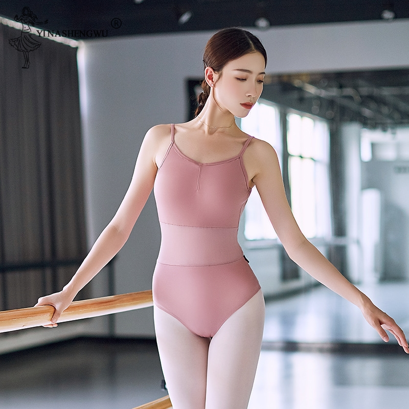 New Bodysuit Leotard Adult Girl Women Ballet Dance Gymnastics Invisible Ballet Leotard Women Dancewear Ballet Practice Clothes