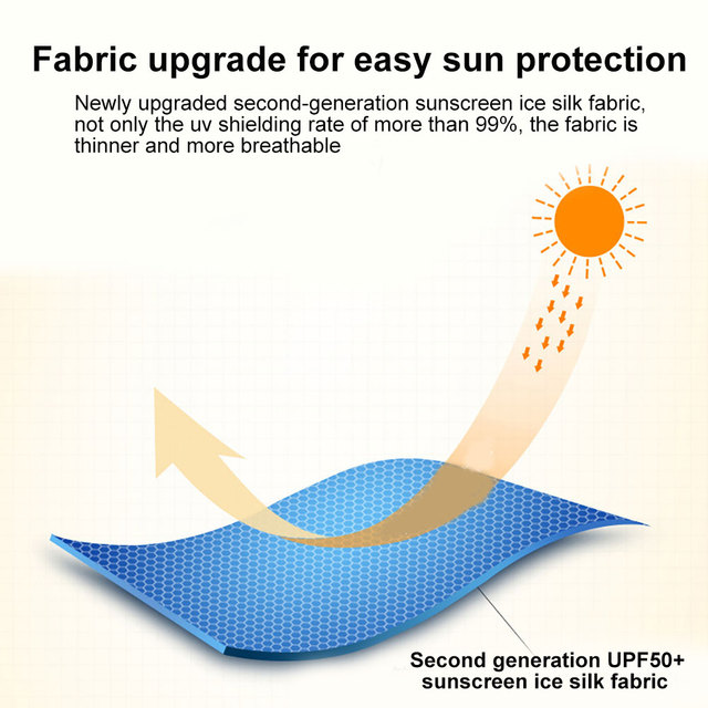Summer Breathable UV Sun Protection Triangle Scarf Outdoor Cycling Face Mask 3