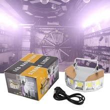 Çok açılı geniş strobe uzaktan kumanda aydınlatma çubuğu KTV balo salonu solunum lambası ışıkları radyasyon Strobe flaş lambası