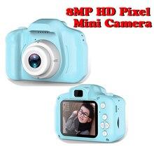 8.0MP мини цифровая камера 2,0 дюймов Камера Фото Видео TF карта поддержка детей подарки на день рождения 1080P проекционная видеокамера