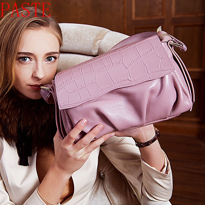 Genuine Leather Bag Female Luxury Handbags Women 2P0951 best in the market top quality