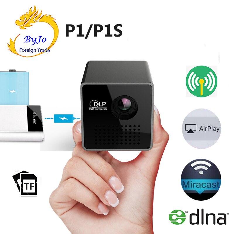 UNIC P1 série projecteur P1 + H ou P1 poche maison film projecteur Proyector Beamer Mini DLP projecteur mini projecteur P1 + H wifi