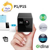 UNIC P1 series P1s bolsillo película Proyector Beamer Mini DLP mini Proyector inalámbrico de proyección