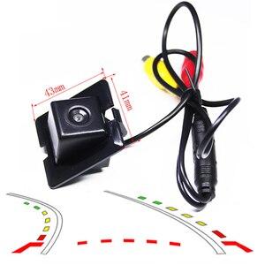 Dynamic Trajectory Tracks car Rear View Reversing Camera for Toyota Land Cruiser Prado LC 150 LC150 2010~2016