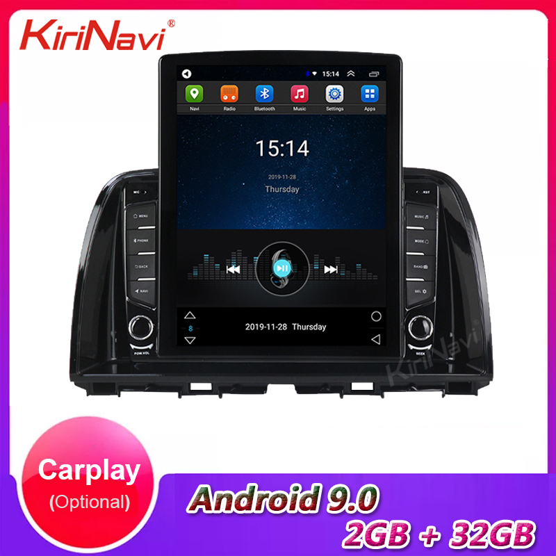 KiriNavi 9.7 Telsa Style Vertical Screen Android 9.0 Car Radio For Mazda CX-5 CX 5 Car Multimedia Player auto GPS Navigation 4G image