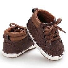 Обувь для маленьких мальчиков; новая классическая парусиновая обувь для новорожденных; обувь для маленьких мальчиков; обувь для первых шагов; детская обувь