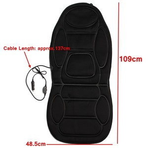 Image 5 - 12V Electric Heated Car Seat Cushion Cover Seat  Heater Warmer Winter Household Heating Seat Cushion