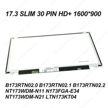 fix 17.3 ultraslim 30PIN laptop screen HD+ 1600*900 monitor for DELL INSPIRON 17 5765 5767  5770 P35E P32E (AD13) 8VPR0 DISPLAY